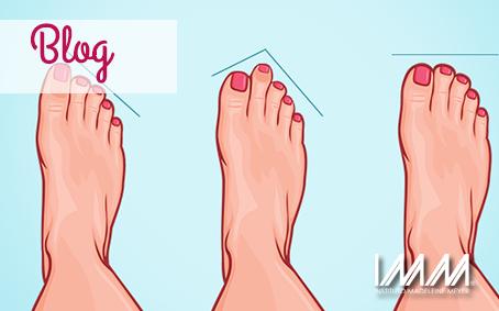 ¿Qué dice la forma de tus pies sobre ti?